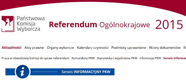Link do strony Państwowej Komisji Wyborczej